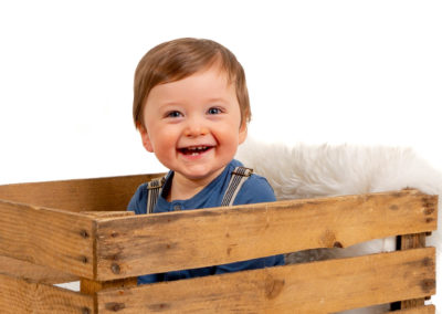 Barnefotografering i studio