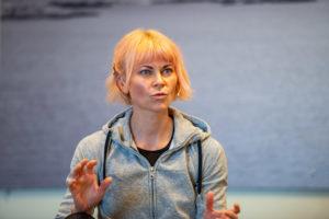 Bertine Zetlitz Yoga - Fotograf Tonje Jakobsen