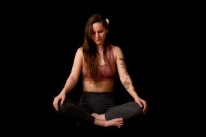 Yoga portrettbilde - Fotograf Tonje Jakobsen